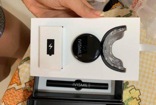جهاز تبييض الاسنان IVISMILE Whitening Teeth Kit كيت كامل photo review