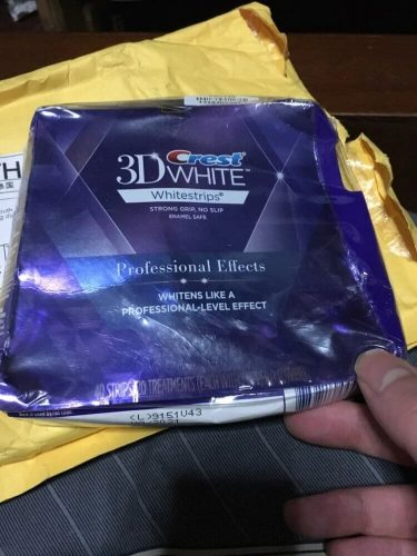 لصقات كرست لتبييض الاسنان Crest Strips Whitening الاصلي photo review