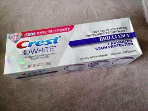 معجون كرست لتبييض الاسنان Crest 3D Brilliance Toothpaste photo review